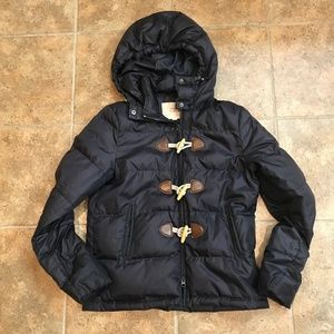 Brooks Brothers Duck Down Puffer Toggle Coat - 8